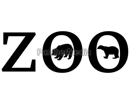 senyal opcional jardin grafico animal oso