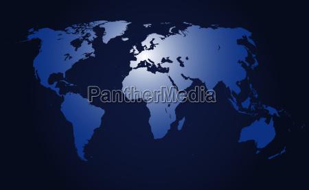 mapa globo tierra todo el mundo