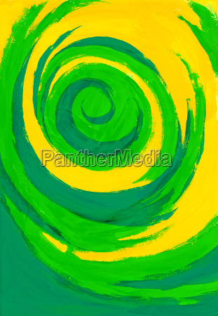 color pintura cepillo abstracto decorativo vortice