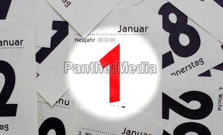 january 1 new year