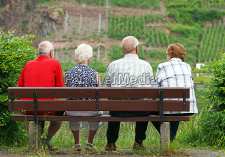 seniorer pa baenken fire seniorer