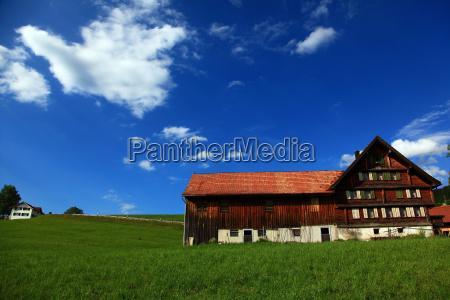 farm in appenzellappenzellswitzerland
