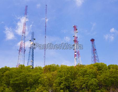 las torres de telefonia