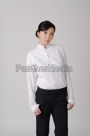 asian business female