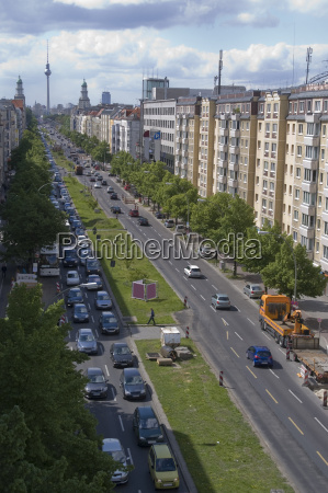 calle principal de berlin