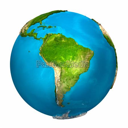 planeta tierra america del sur