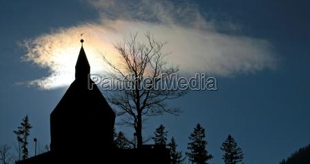 ciudad nube austria cereza peregrinacion sombra