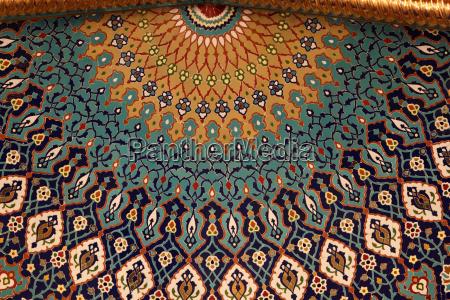 adornos de mosaico oriental