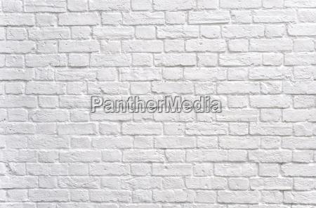 pared de ladrillo blanca