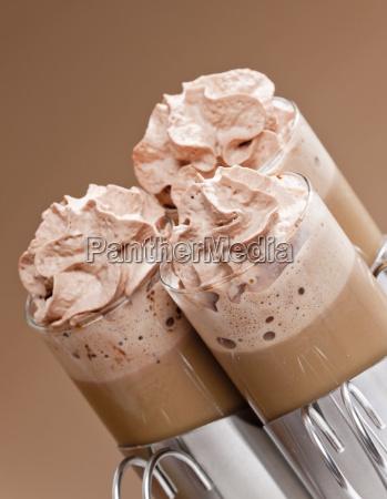 bodegones de cafe con crema batida
