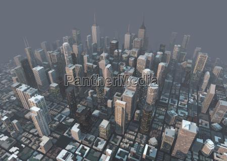 ciudad de niebla