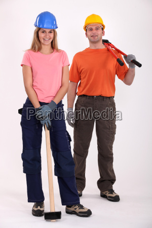a couple of handyman