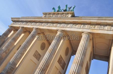 brandenburgo berlin clasico estilo de construccion