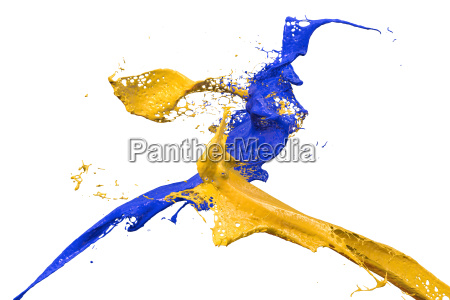 azul movimiento en movimiento liquido color