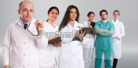medico mujer salud medicinal uniforme adulto