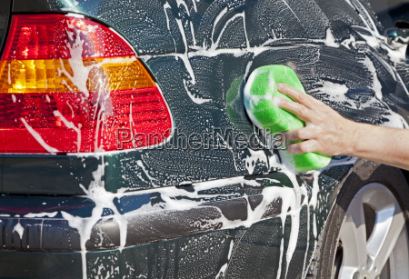 coche que se lava