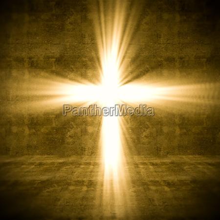 luz cruzada