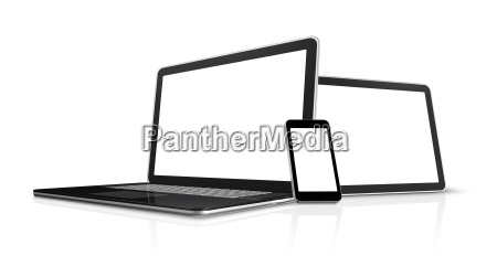 ordenador portatil telefono movil y tablet
