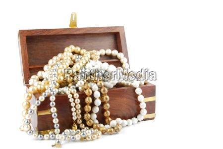 jewel box en blanco