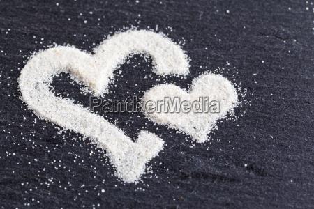 corazones de arena