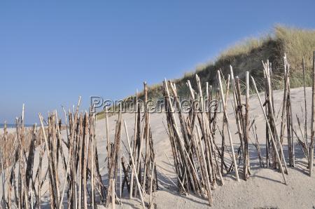 proteccion de dunas en sylt