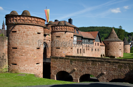 murallas de la ciudad de buedingen