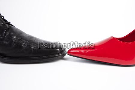 damas y cordon de zapato de
