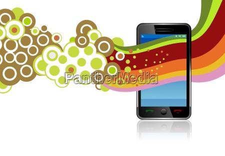 smartphone app graphics