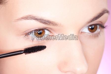 cara ojo organo mascara productos cosmeticos