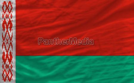 bandera nacional agitada completa de bielorrusia