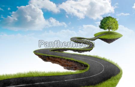 el camino al arbol