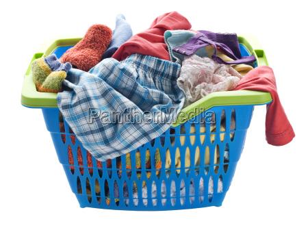 lavar canasta lavado sucio ropa lavanderia