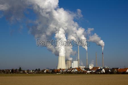 planta de energia nuclear y la