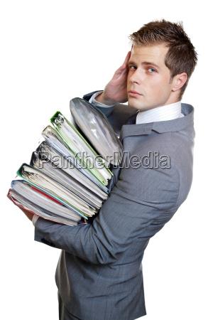 frustrado negocios trabajo mano de obra