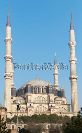 mezquita de selimie en edirne