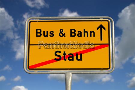 almacenamiento ortsschild aleman y de trenes