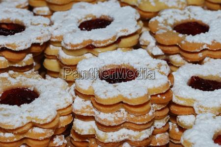 galletas con mermelada