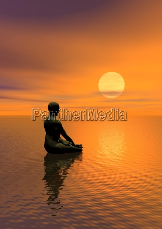 meditacion por puesta del sol