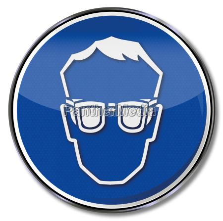 gafas de seguridad obligatorias
