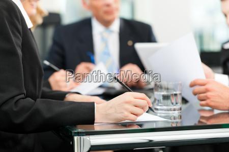 asunto reunion con el trabajo