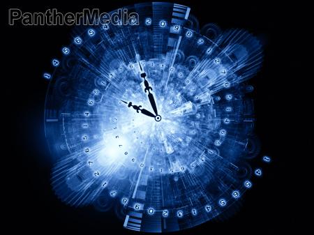 el funcionamiento del tiempo
