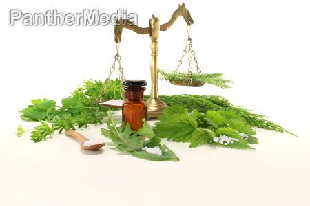 homeopatia con basculas farmaceuticas