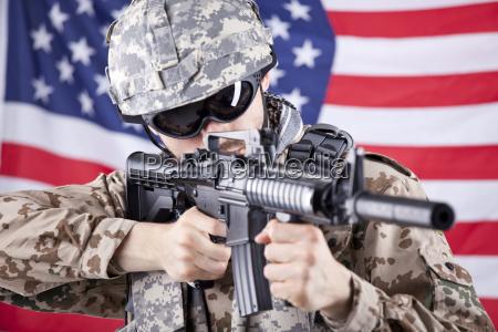 disparos de soldados americanos