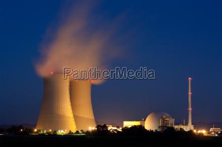 central nuclear de grohnde en la