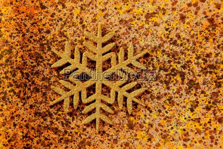 navidad copo de nieve simbolo de