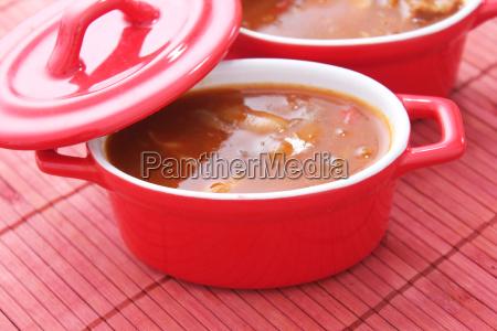 sopa de goulash