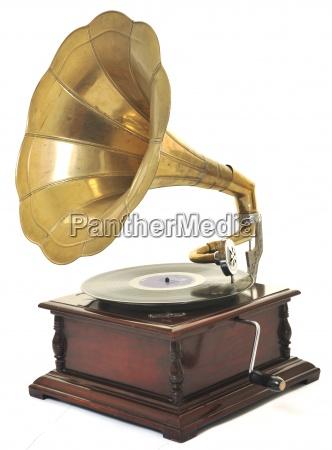 gramofono viejo