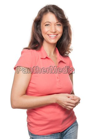 happy and smiling woman