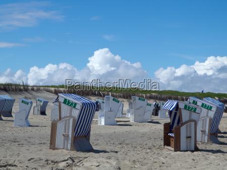 en la playa de norderney