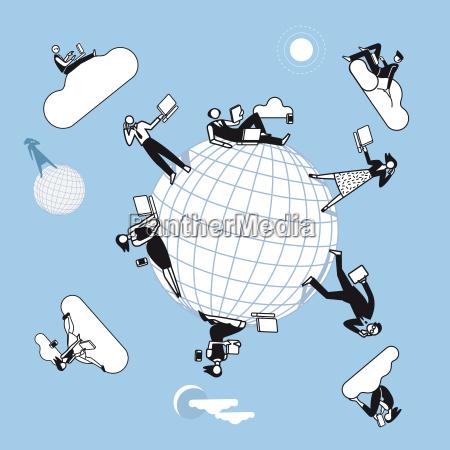 cloud computing planet